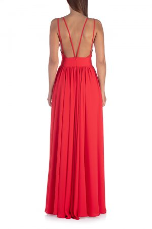Long-red-Backless-dress-back-elsa-barreto