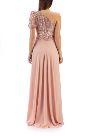 oneshoulder-long-sequin-dress-pink-back-elsa-barreto