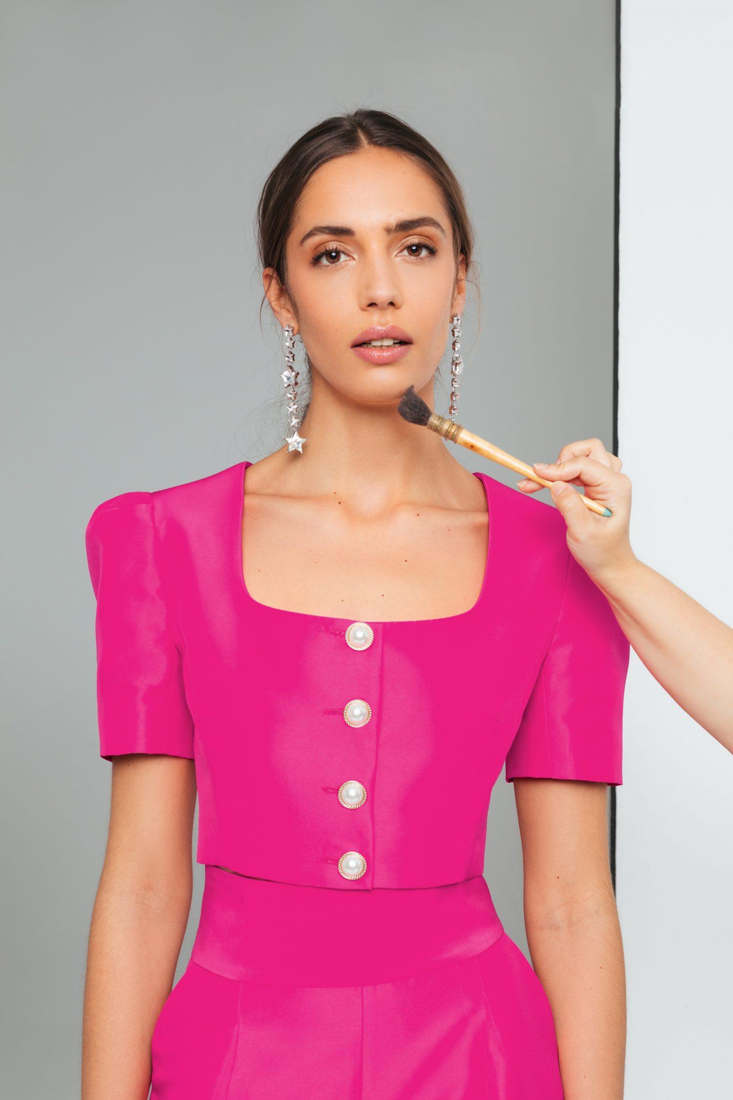 buttons-hot-pink-top-elsa-barreto
